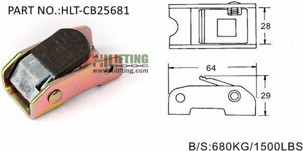 Cam buckle-CB25681