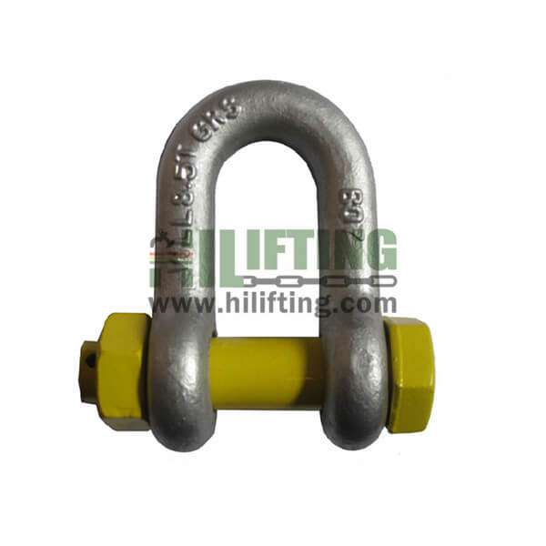 AS2741 Type Grade S Dee Shackle With Safety Pin