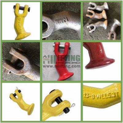 G80 Alloy Clevis Elephant Foot Details