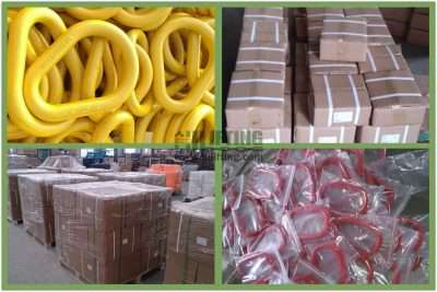 G80 US Type Pear Shaped Links A341 Packages
