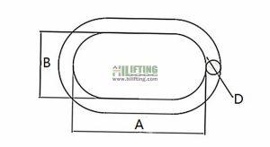 G80 US Type Standard Master Link A342 Sketch