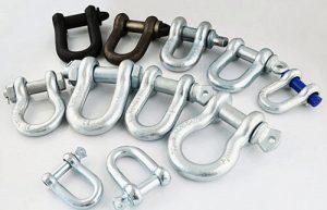Hilifting - D Shackle, Bow shackle, Chain Shackle & Anchor Shackle
