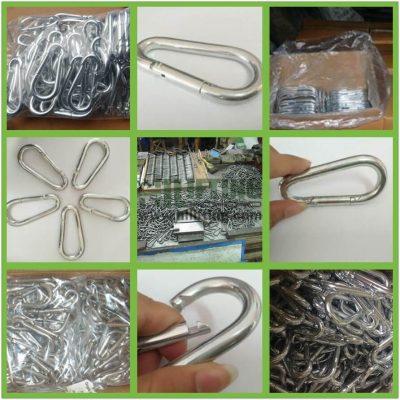 Snap Hook Egg Type DIN5299 Form B Details