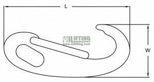 Stainless Steel Egg Spring Snap Hook Sketch