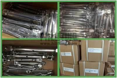 Stainless Steel European Type Closed Body Turnbuckle Packages