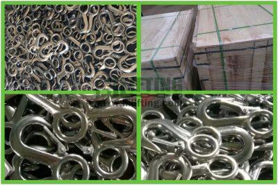 Stainless Steel Large Eye Hook Packages