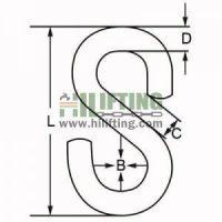 Stainless Steel S Hook Sketch