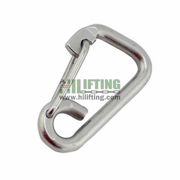 Stainless Steel Simple Spring Snap Hook
