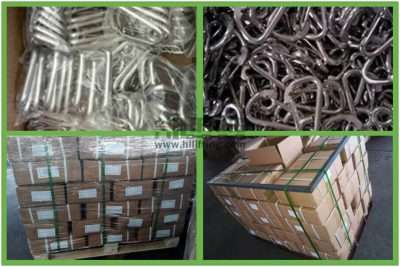 Stainless Steel Simple Spring Snap Packages