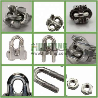 Stainless Steel US Type Wire Rope Clip Details
