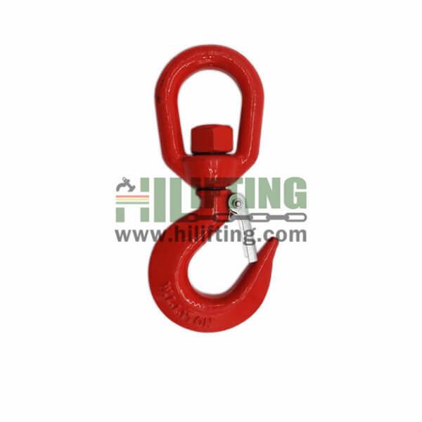 US Type Alloy Steel Swivel Hoist Hook A322