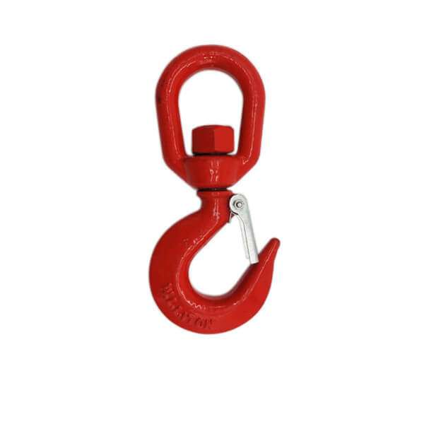 Alloy Steel Swivel Hoist Hook A322