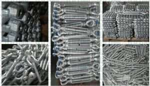US Type Drop Forged Turnbuckles Eye and Jaw details