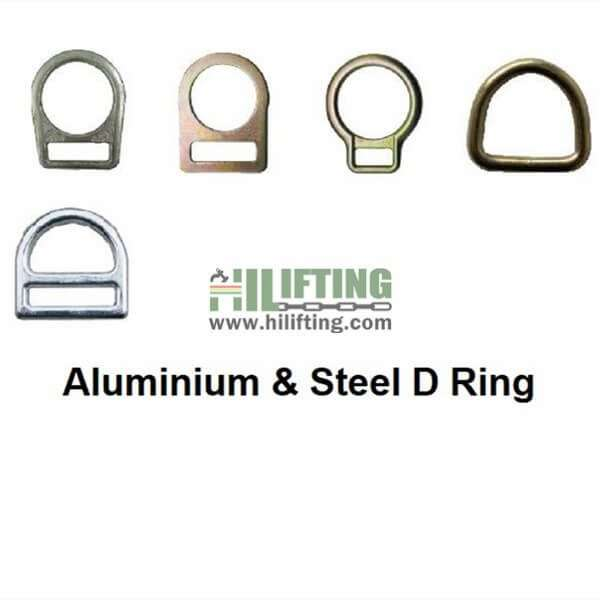 Aluminium&Steel D Ring