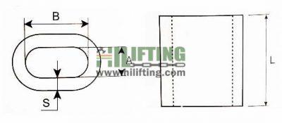 Cable Ferrule Aluminium DIN 3093 Sketch