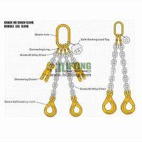 Grade 8 2 Leg Chain Sling
