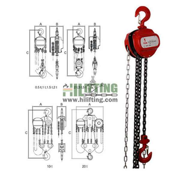 Manual Chain Block CK Type