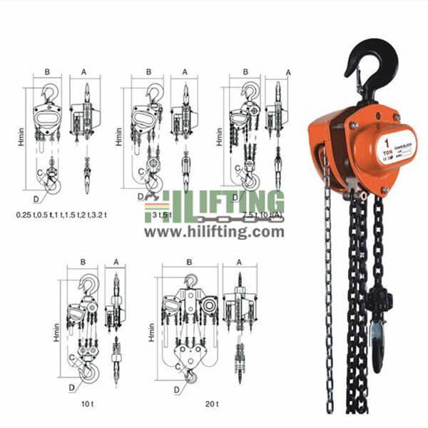 Manual Chain Block VD Type